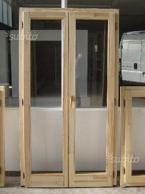 finestre in legno pino russo posot class