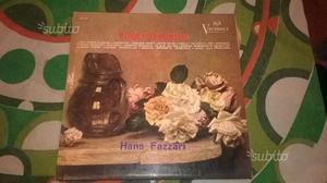 Hans Fazzari Fogli D'album 33 giri Victrola