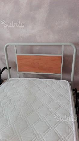Letto ortopedico con manovelle e sponde di posot class - Sponde letto per anziani ...