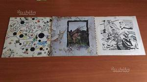 N. 3 lp 33 vinile led zeppelin
