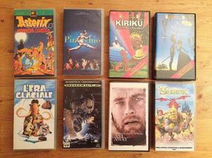 VHS cartoni animati Disnay e altro