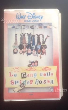 Vhs Walt Disney rarissima 1'ediz: La gang della sp