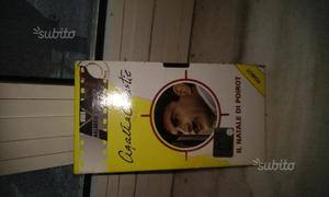 Videocassette vhs di Agatha Christie
