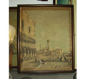 coppia di stampe veneziane