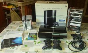 Console Play Station 3 + 8 giochi completa