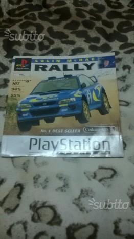 Copertina Colin McRae Rally PS1
