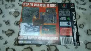 Copertina Soviet Strike PS1