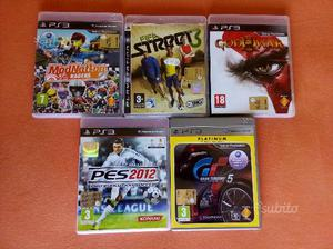 Lotto giochi ps3 God of War Pes Fifa e altri