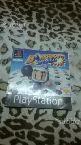 Manuale Bomberman World SOny PS1