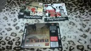 Manuale + Copertine Ronin Blade PS1
