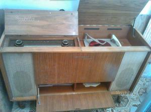 Mobile radio giradischi anni 60 grundig
