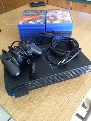 PS 2 con 16 giochi e accessori