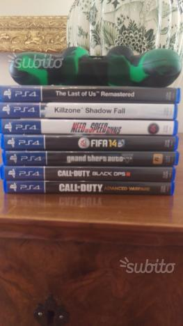 PS4 + 6 giochi