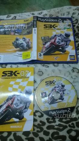 SBK 07 per Sony PS2