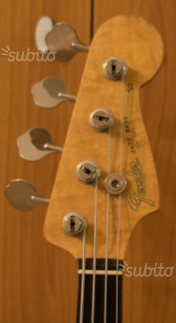 Fender Jazz Bass MIJ Reissue '62 (anno '87)