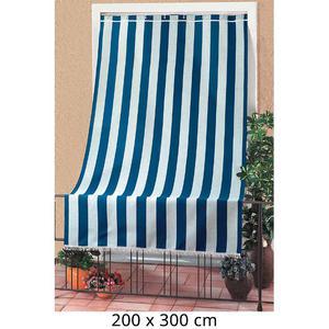 Tenda Da Sole Per Sormonto 200x300cm Con Anelli Tessuto A