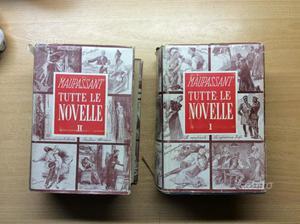 2 volumi guy de maupassant, tutte le novelle