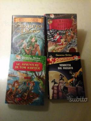 3 libri Geronimo Stilton
