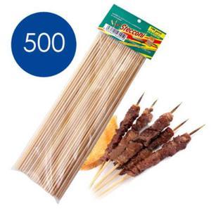 500 Stecconi Bamboo Spiedini Ideale Per Cubo Fabbrica