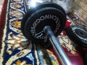 Dischi Technogym set completo 1,25 a 10 kg + bilan