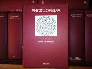 "Enciclopedia universale "" Enciclopedia ""Enaudi"