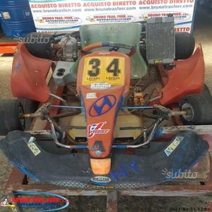 Go Kart Swiss Hutless 100cc - Stark