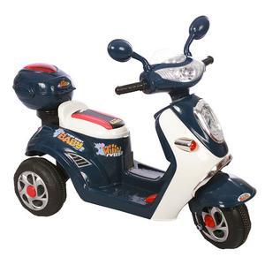 Moto Motocicletta Elettrica Vespa Trend Blu 6v Per Bambini