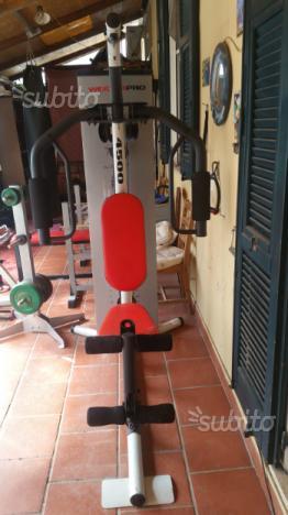 Panca multistazione lat machine pulley