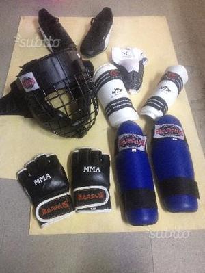 Protezioni arti marziali MMA