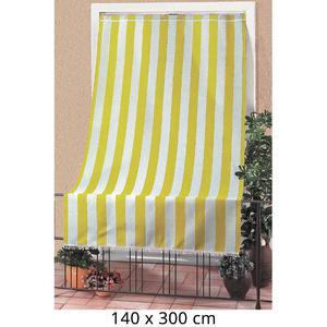 Tenda Da Sole Per Sormonto 140x300cm Con Anelli Tessuto A