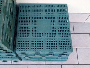 Mattonella da pavimento in legno 30x30 cm per giardinoof piastrelle
