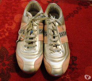 """scarpe da tennis """"Sixon"""", con righe rosa, n° 38, donna"""