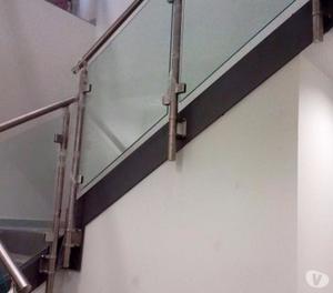 Parapetti anticaduta per tetti cornicioni scale posot class - Parapetti in vetro per scale ...