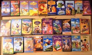 Cassette vhs originali n'28 molte Walt Disney