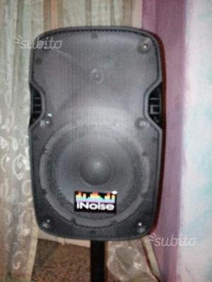 Coppia casse passive marca Inoise 500 watt