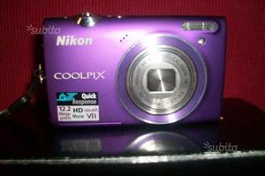 Fotocamera digitale NIKON coolpix 12.2mp e HDmovie