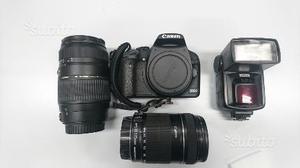 Kit Canon EOS 500D + OBIETTIVI e accessori