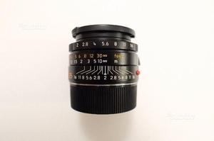 Leica summicron asph 35 mm f. 2