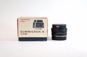 Leica summicron r 50 f2