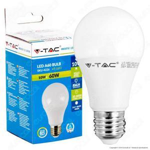Lotto stock 10 lampadine led V-Tac 10w-60w luce calda o
