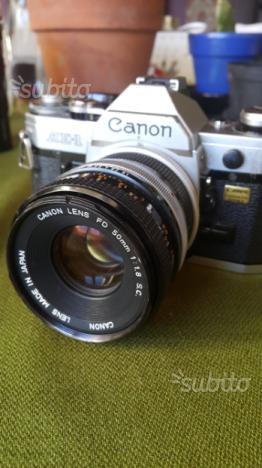 Macchina fotografica Canon Ae1
