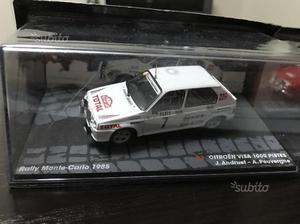 Modelli rally in teca