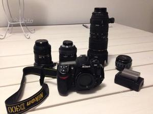 Nikon D + battery ecc
