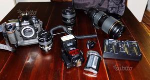 Nikon D2xs e obiettivi