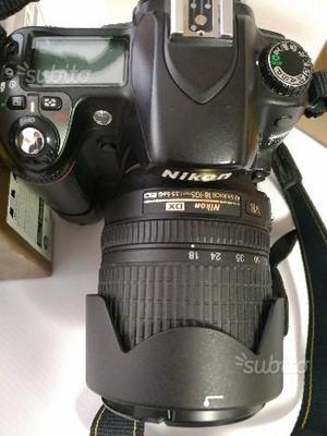 Nikon D80 + af s-dx  vr + speedlight sb-25