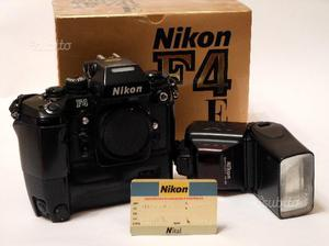 Nikon f4e + flash nikon sb 24