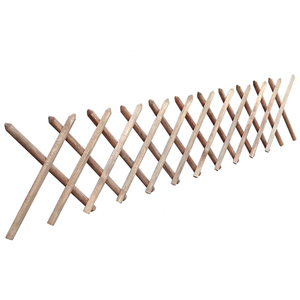 vidaXL Traliccio Estensibile In Legno Impregnato 250 x 60 cm