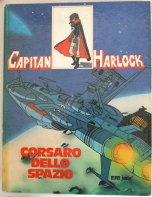 LIBRO-FUMETTO CARTONATO CAPITAN HARLOCK EDIZIONE ERI