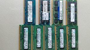 MEMORIE RAM DDR3 PC3 DA 8gb 4GB, 2GB e 1GB