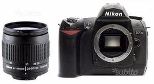 Nikon D70S corpo (scatti)+ obiettivo AF